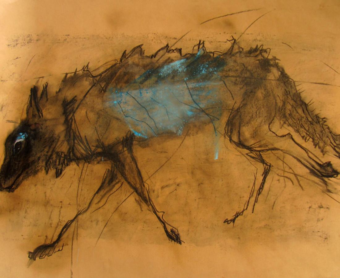 Margo Banks, Wolf in Blue