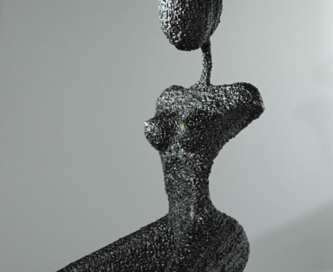 Orla de Brí, She Bull (life size)