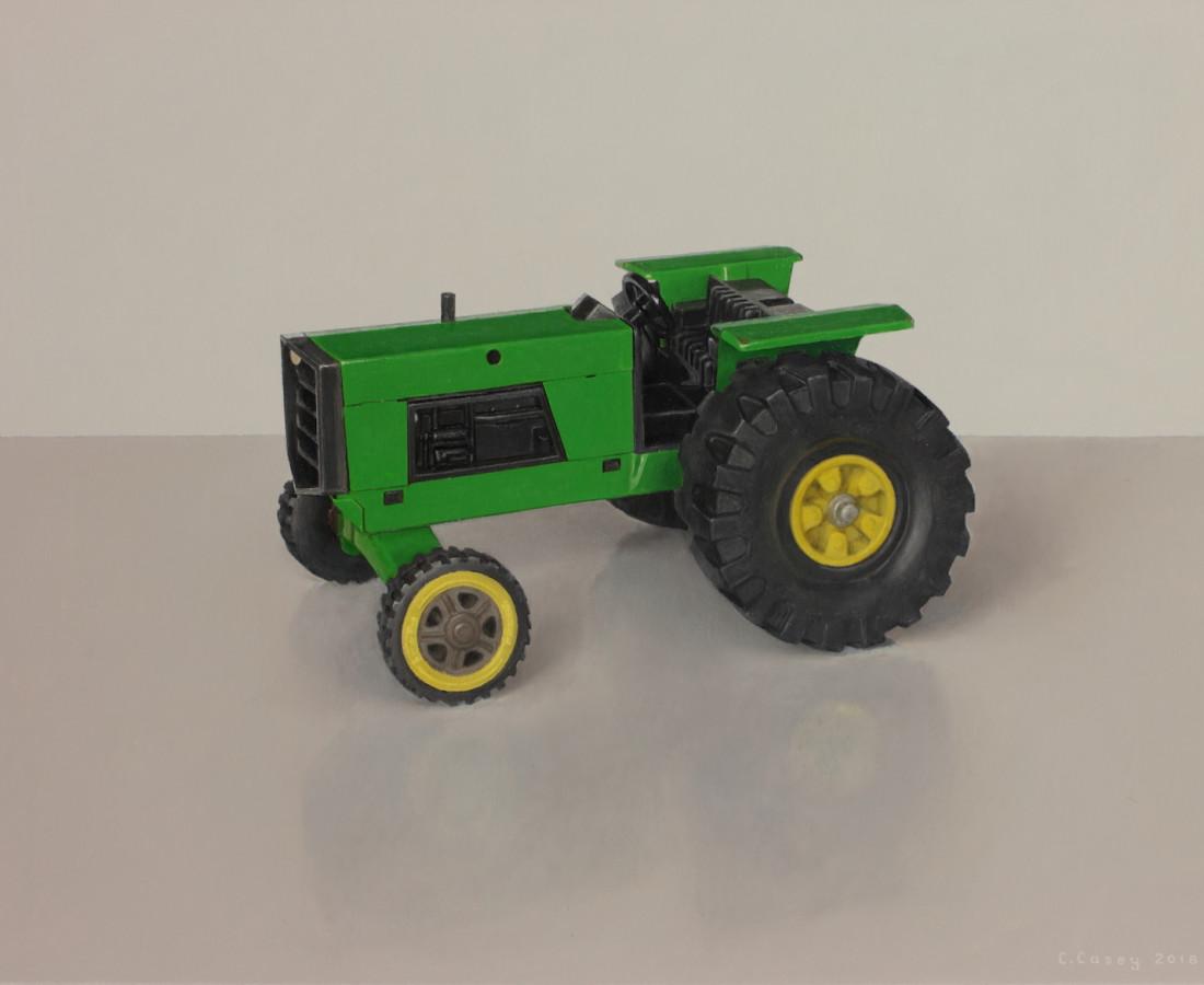 Comhghall Casey, Toy Tractor (Tonka)