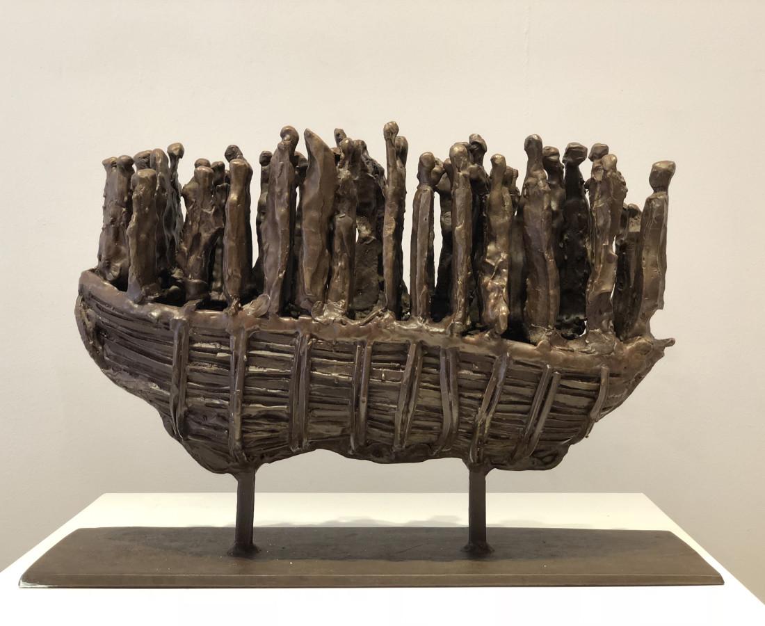 John Behan RHA, Emigrant Boat