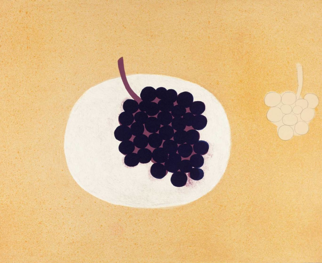 William Scott, Grapes, 1979