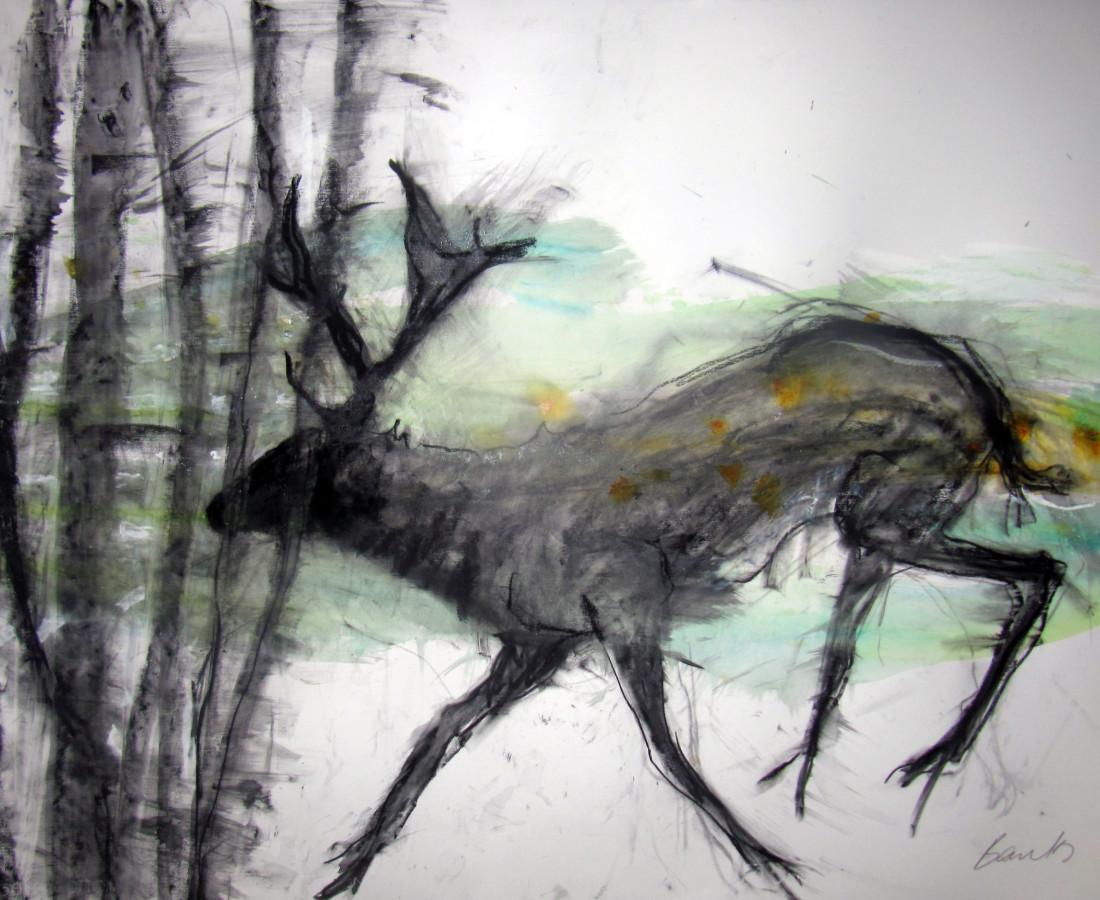 Margo Banks, Deer 5
