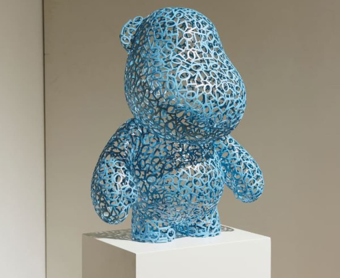 Byungjin Kim, Toy-Love (Bear), 2017
