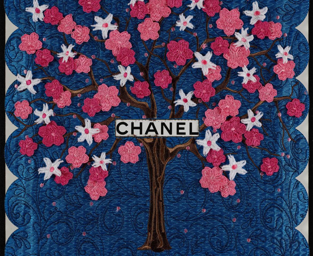 Stephen Wilson, Chanel Tree (Blue)