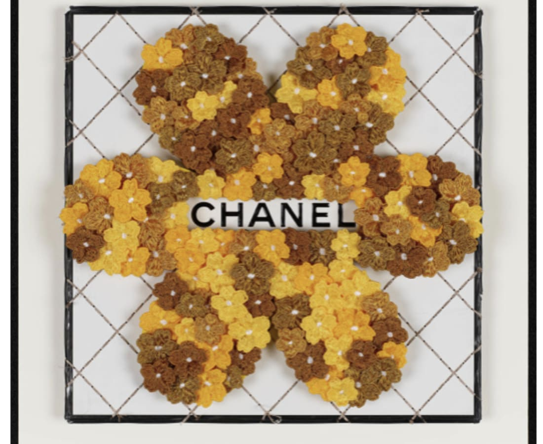 Stephen Wilson, Chanel Flower Flower (Gold)