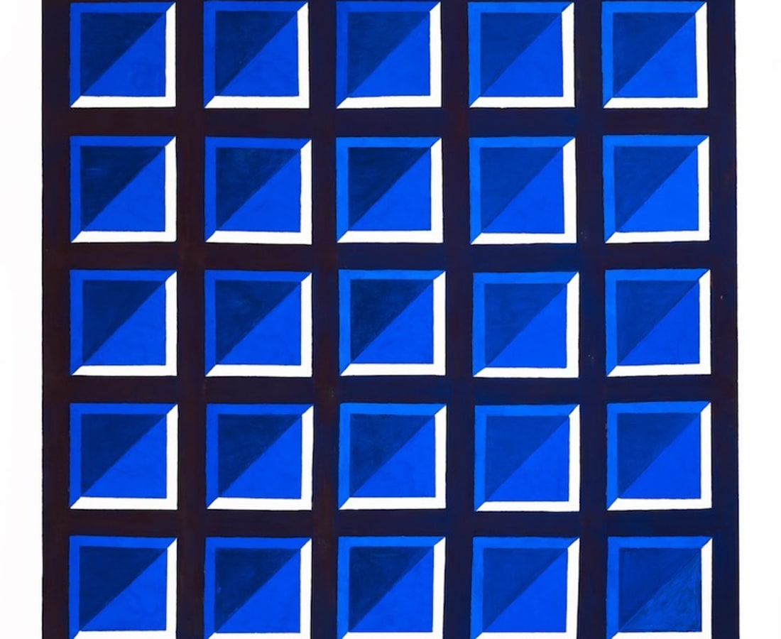 JANE GOODWIN, Blue on Blue Series 6, No. 1