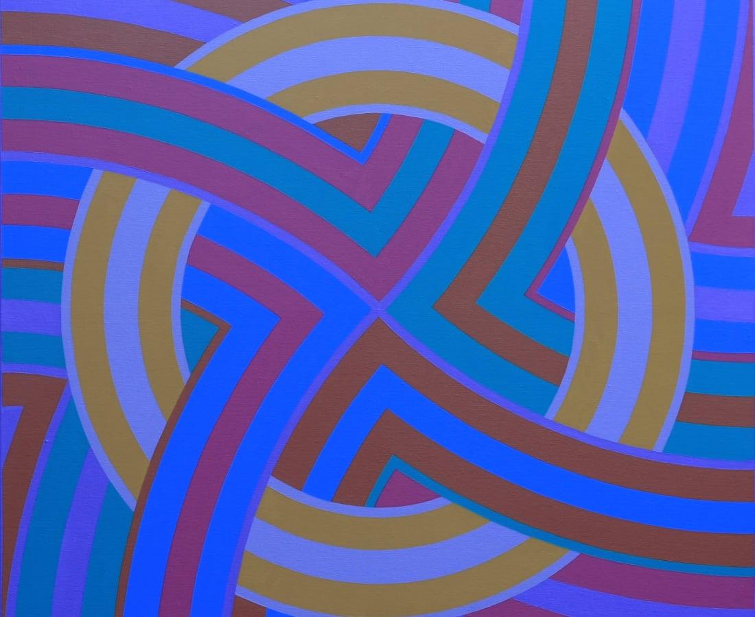 ROY OSBORNE, Circular Forms XI (Compass series), 2008-10