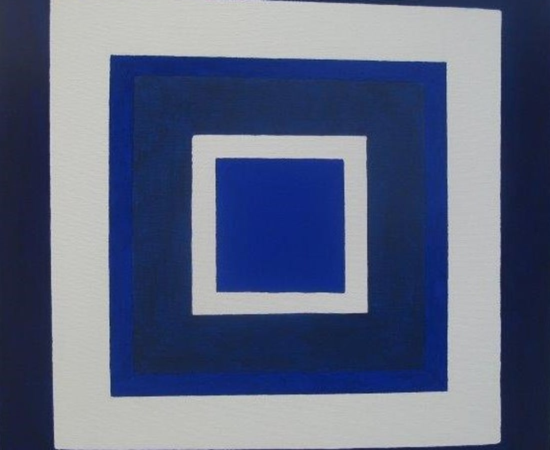 JANE GOODWIN, Blue on Blue Series No. 5 #5