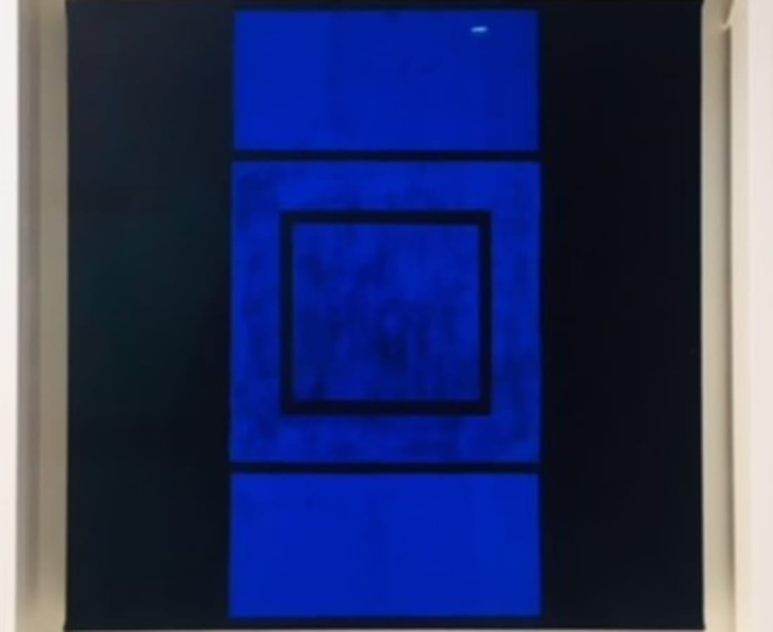 JANE GOODWIN, Blue On Blue Series 8, No.4