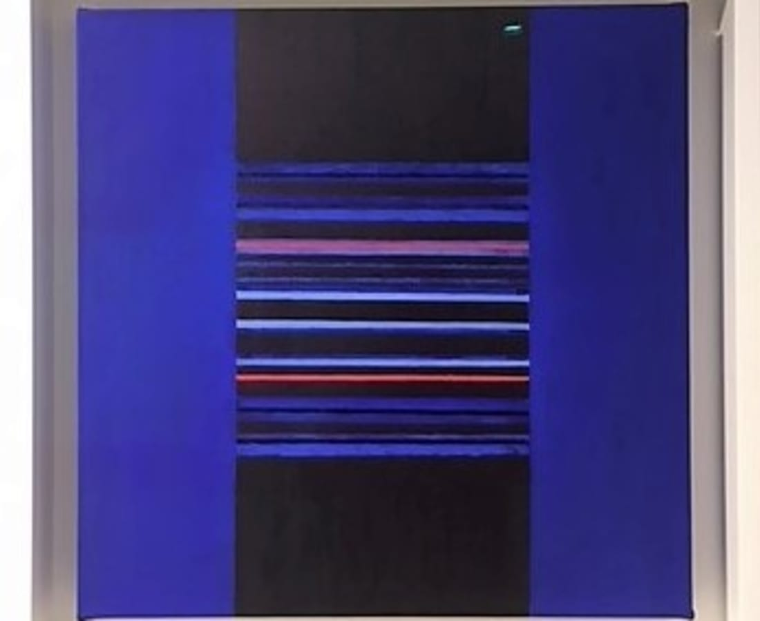 JANE GOODWIN, Blue on Blue Series 8, No.3