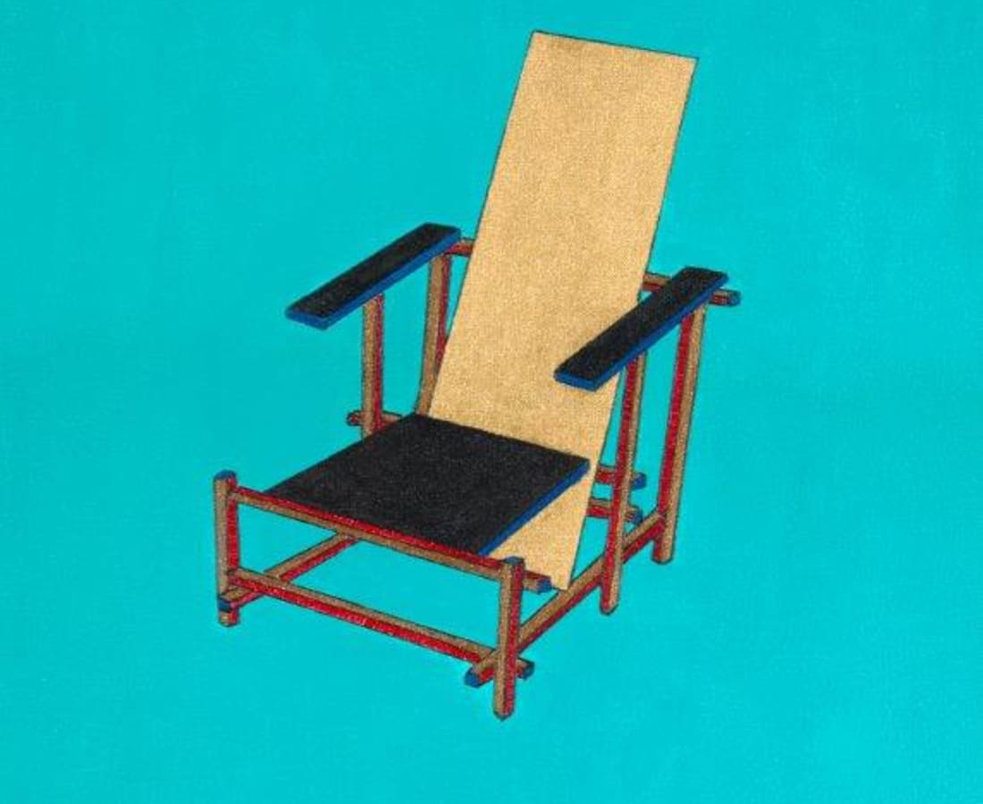 Jane Goodwin, Rietveld Chair
