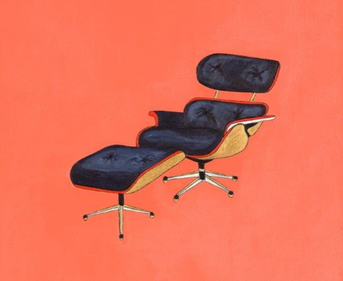 JANE GOODWIN, Eames Chair