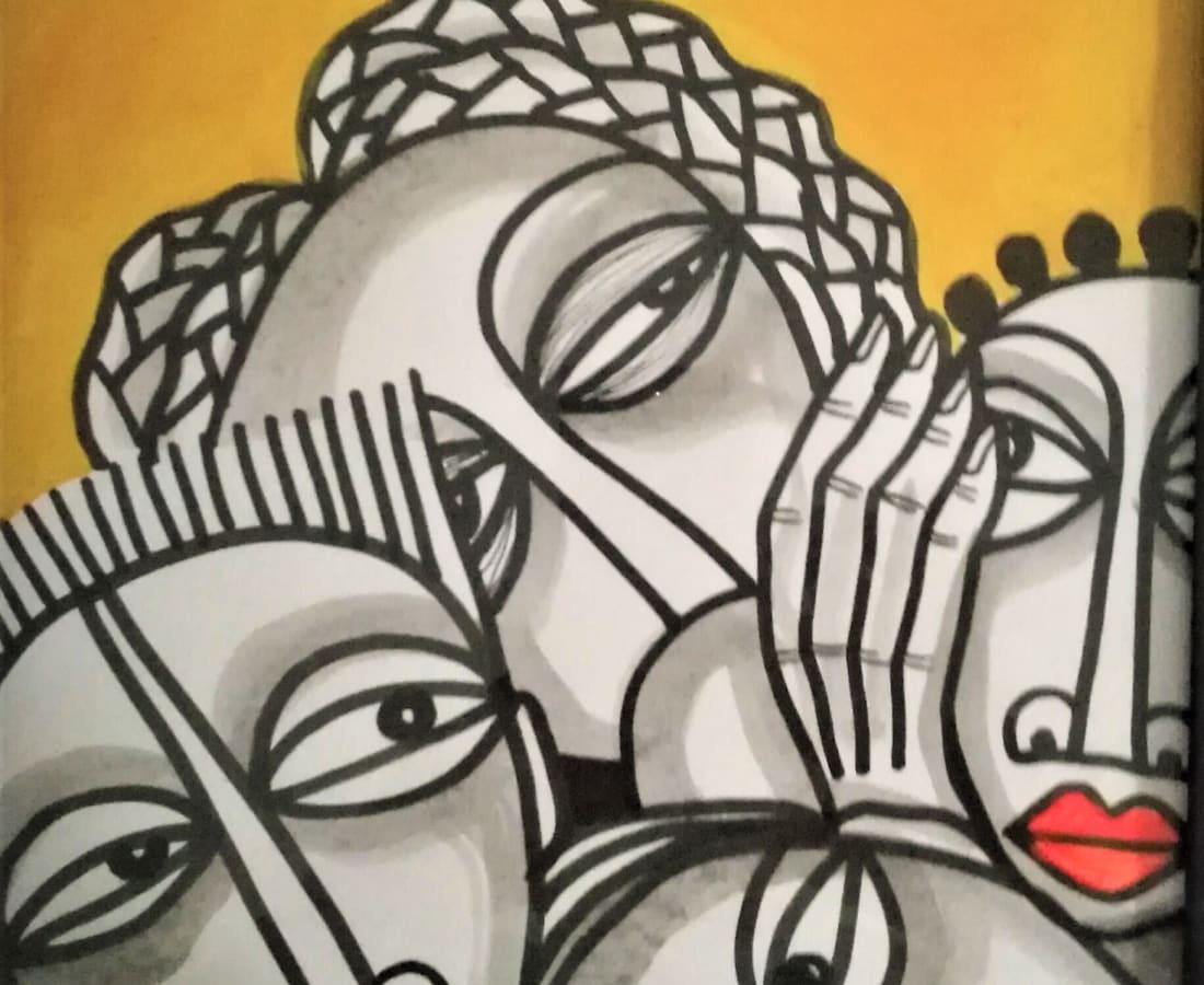 Obou Gbai, Ma famille 8, 2019