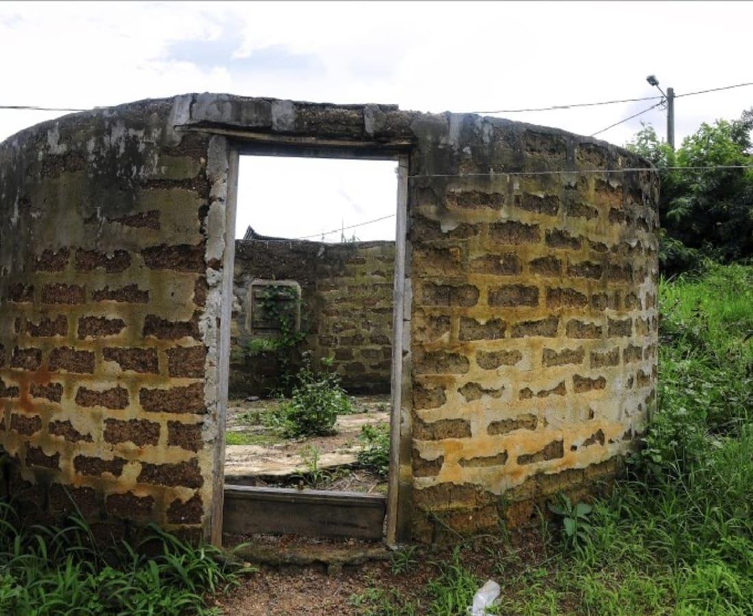 Macline Hien, Ruines #5, 2014