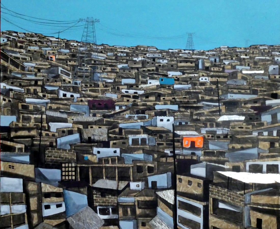Obou Gbai, Locodjro Skyline 1 , 2019