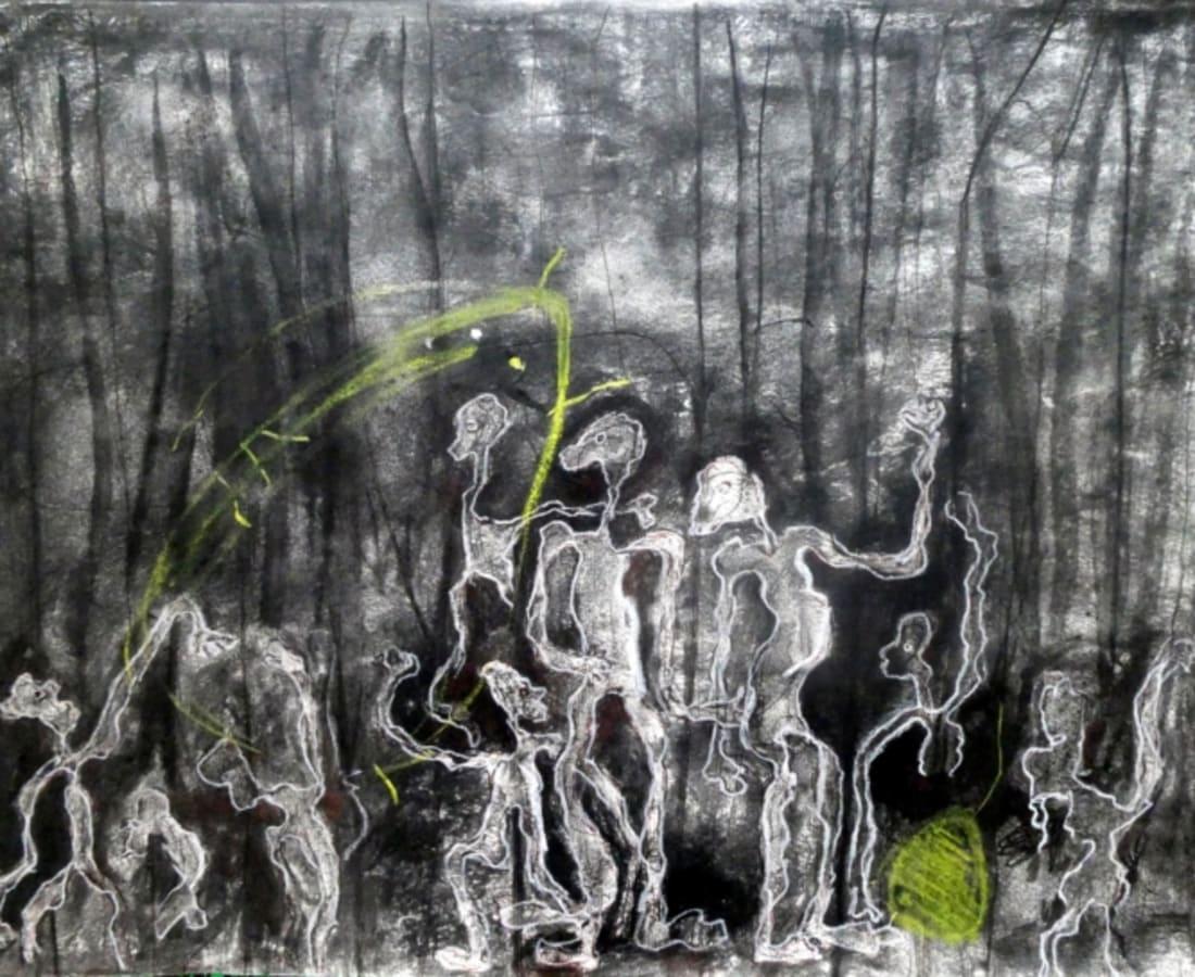 Rodrigue Obodjé, Esprits de la forêt 6, 2019