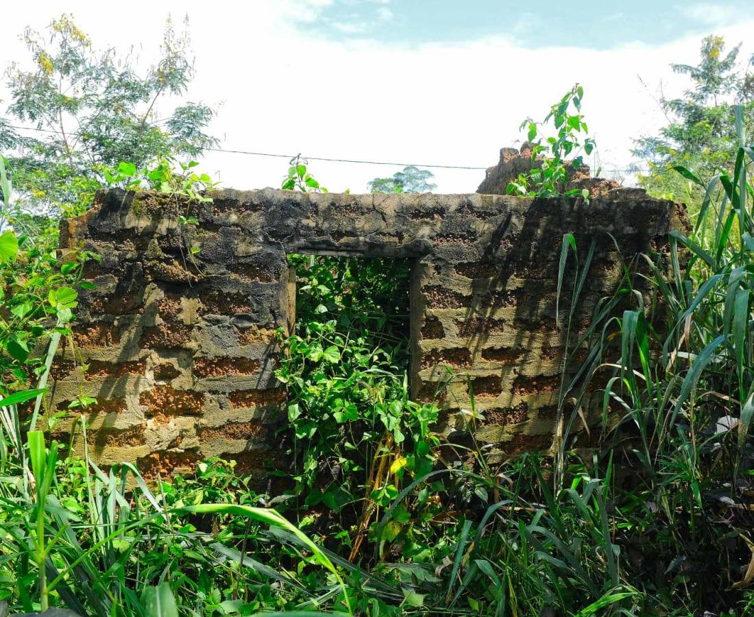 Macline Hien, Ruines #3, 2014
