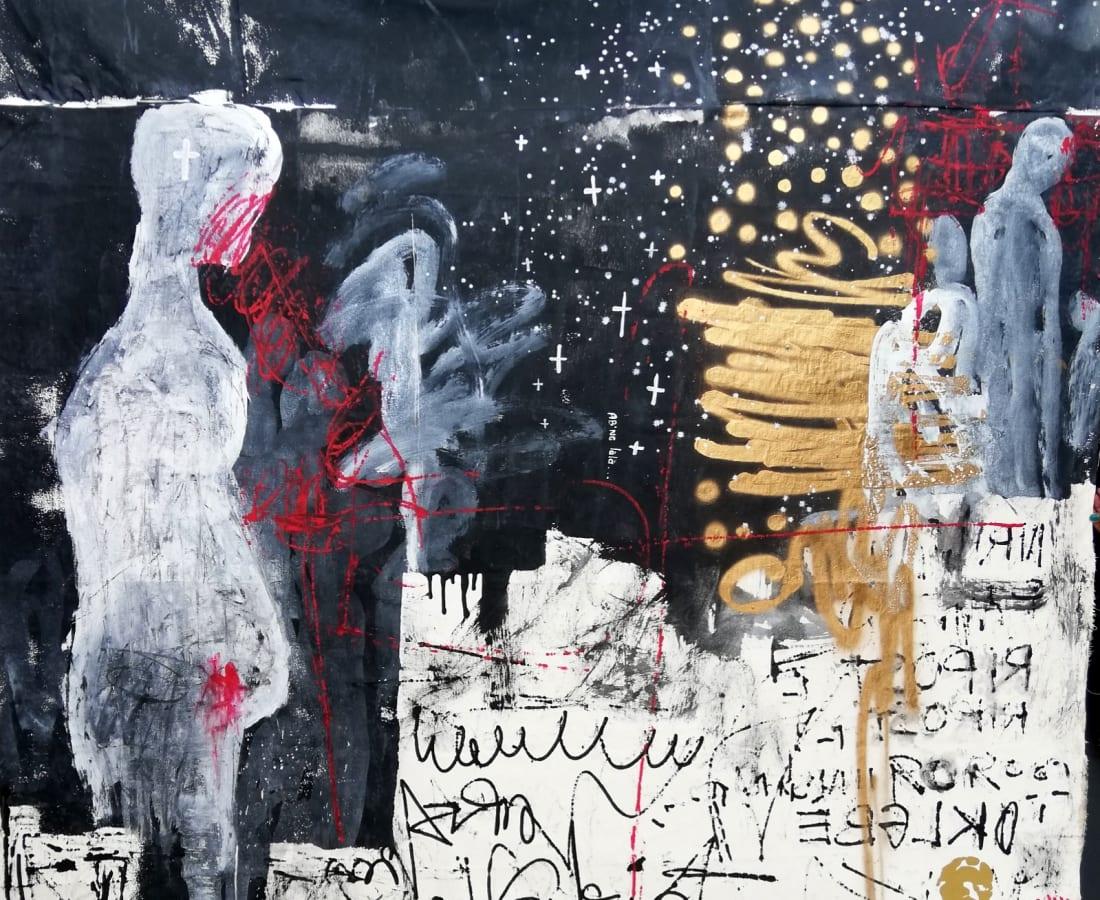 Essoh Sess, Les maitres de la nuit étoilée d'albatre, 2020