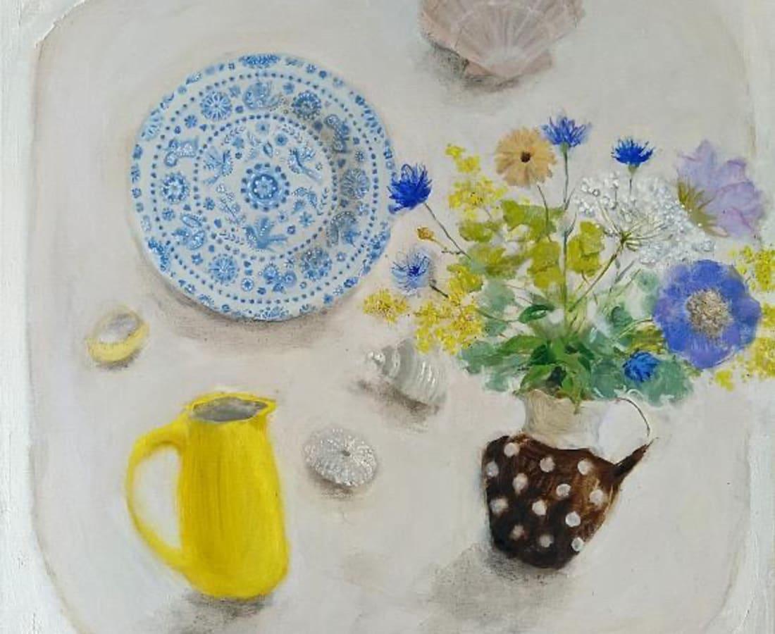 Gillian Gathercole, Lucy Rutter's Yellow Jug & Shells