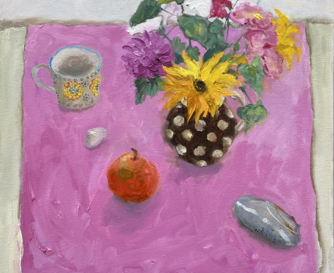 Gillian Gathercole, September Flowers