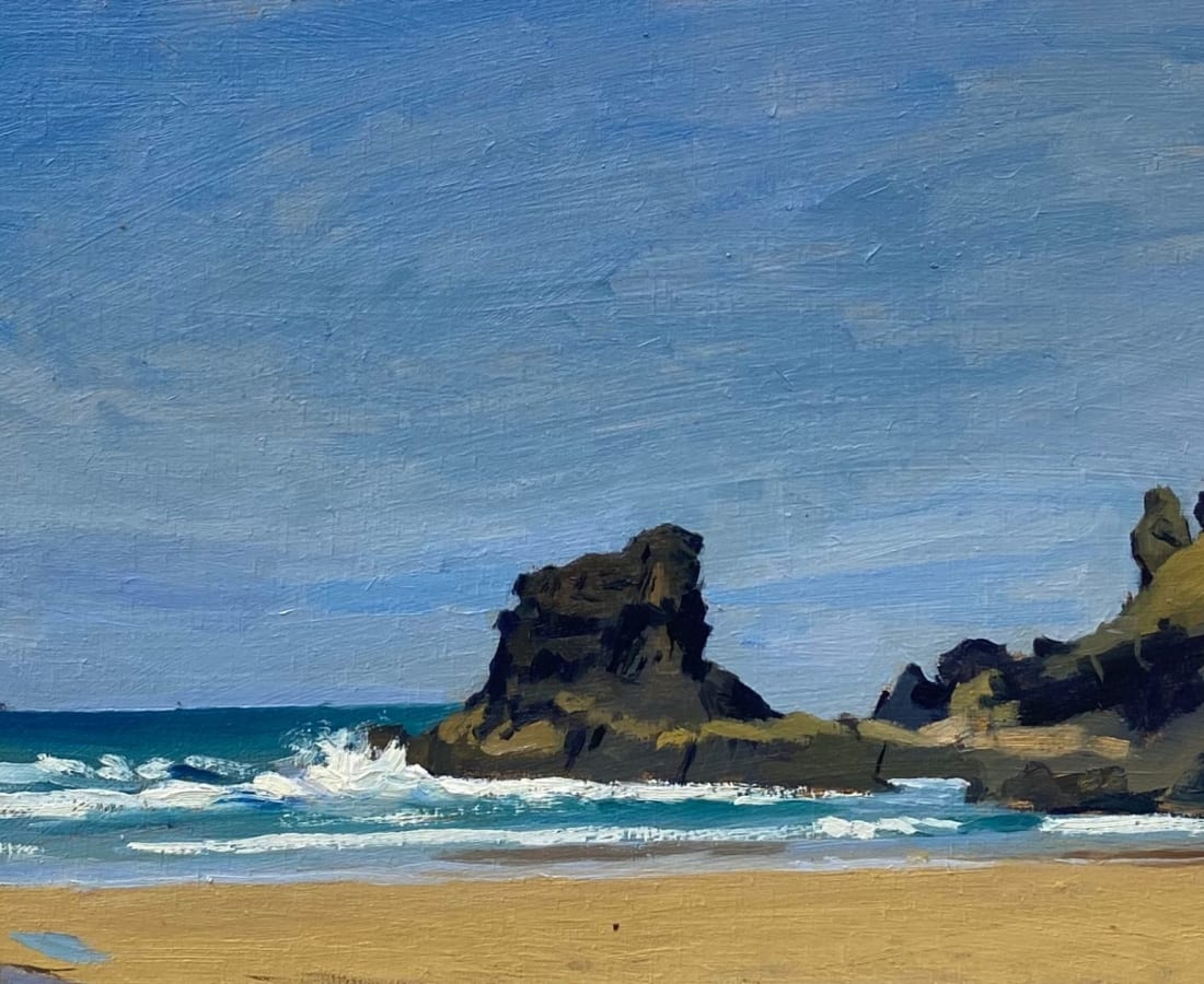 Daisy Sims Hilditch, Porthcothan Bay, Tide Approaching