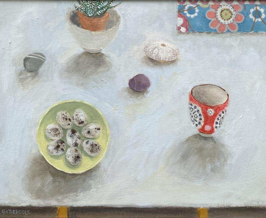 Gillian Gathercole, Quail Eggs and Sea Urchin