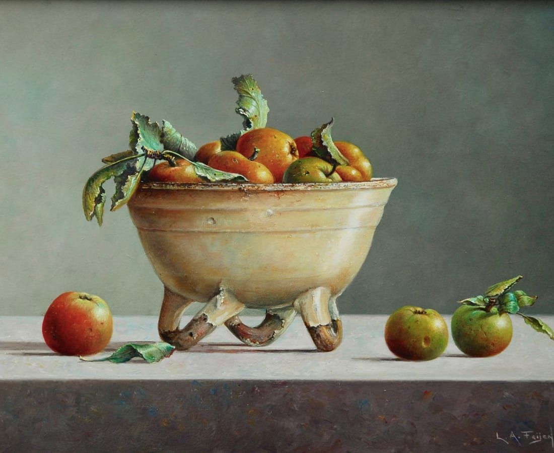 Lion Feijen, Bowl with Apples