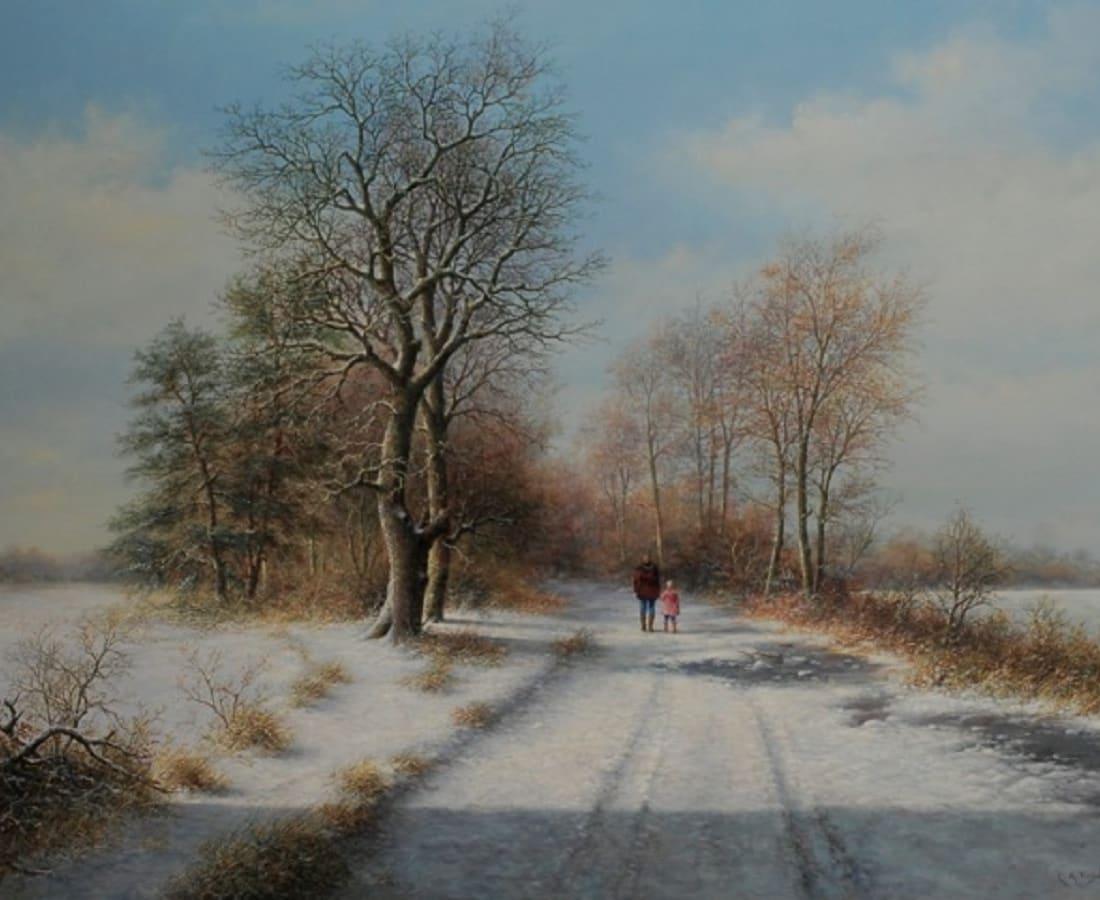 Lion Feijen, A Winter Walk