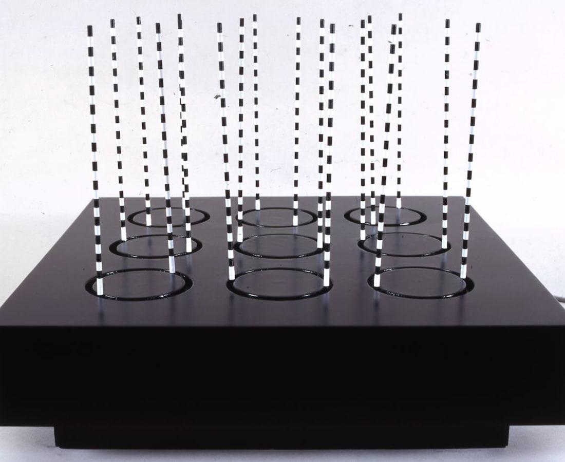 Giovanni Anceschi, Strutturazione cilindrica virtuale, 1963