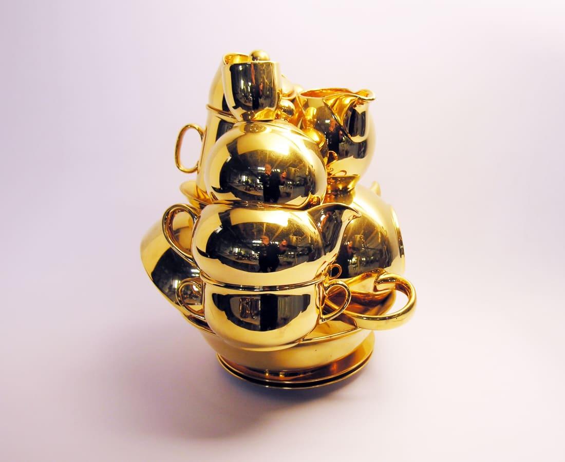 Ted Noten, Golden Piles - I