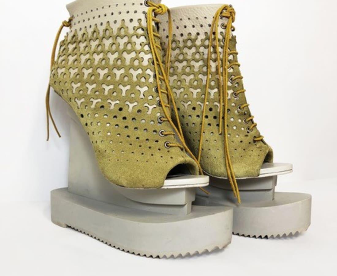 Iris van Herpen, Ludi Naturae Shoes