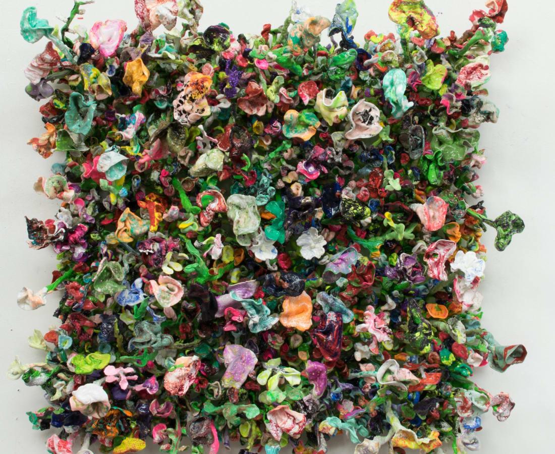 Flower Bonanza - green, 2018