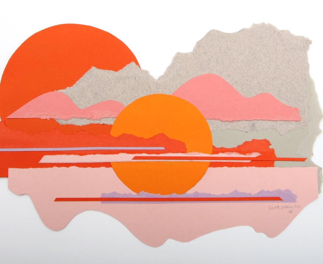 Orange Moonrise, 2018