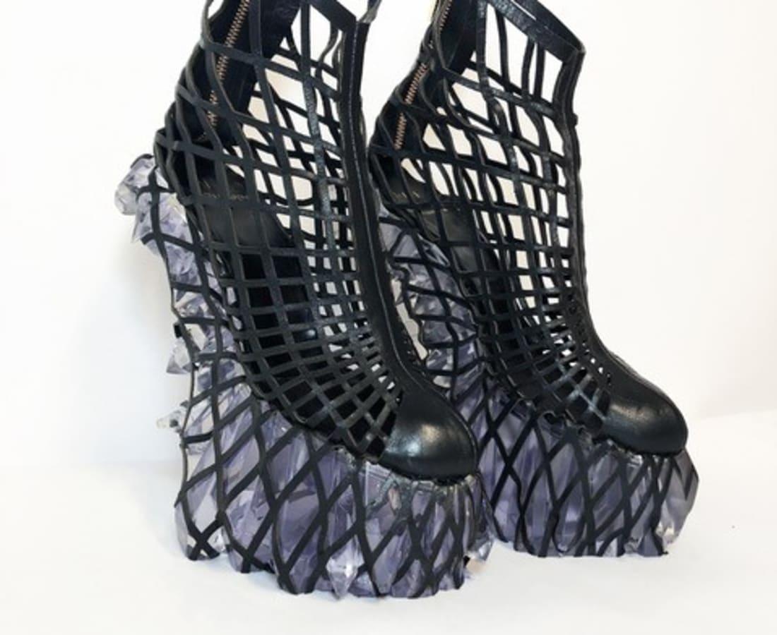 Iris van Herpen, Hacking Infinity Shoes