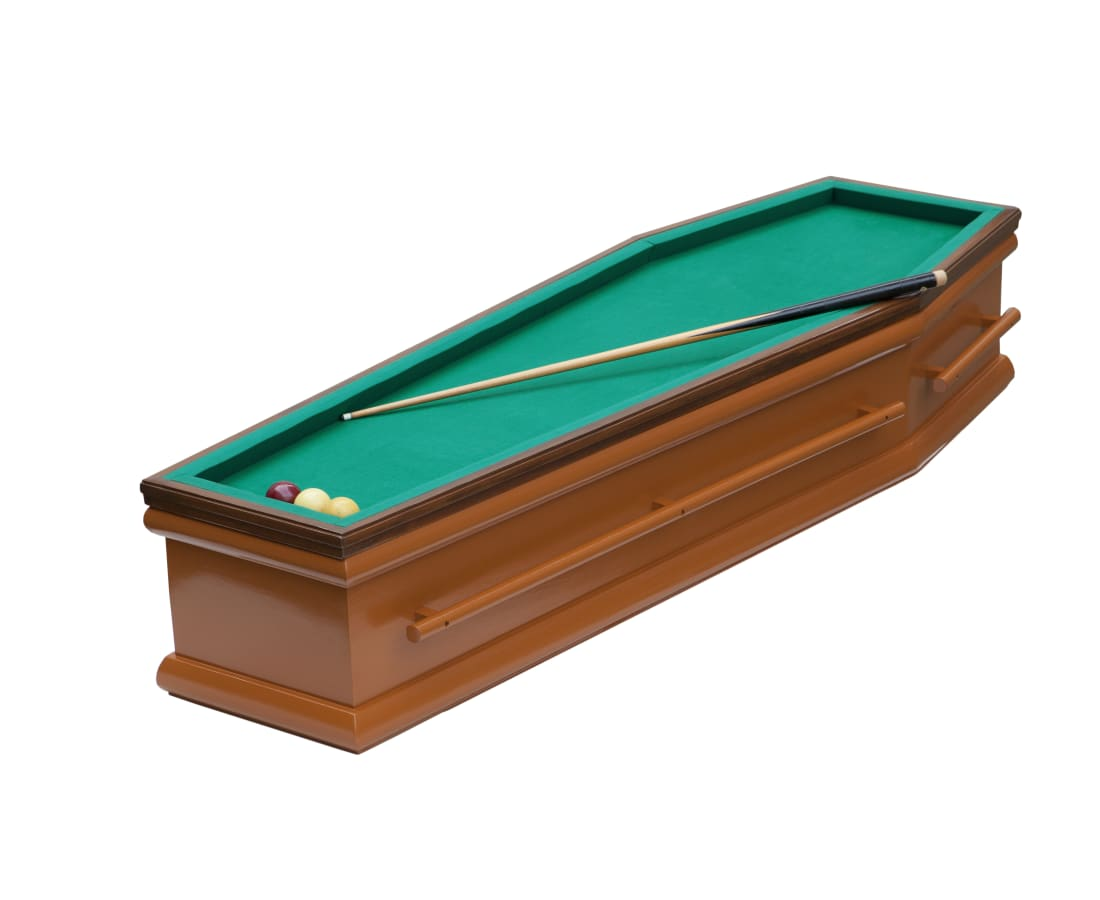 Jill Louise Verweijen, Billiard Coffin