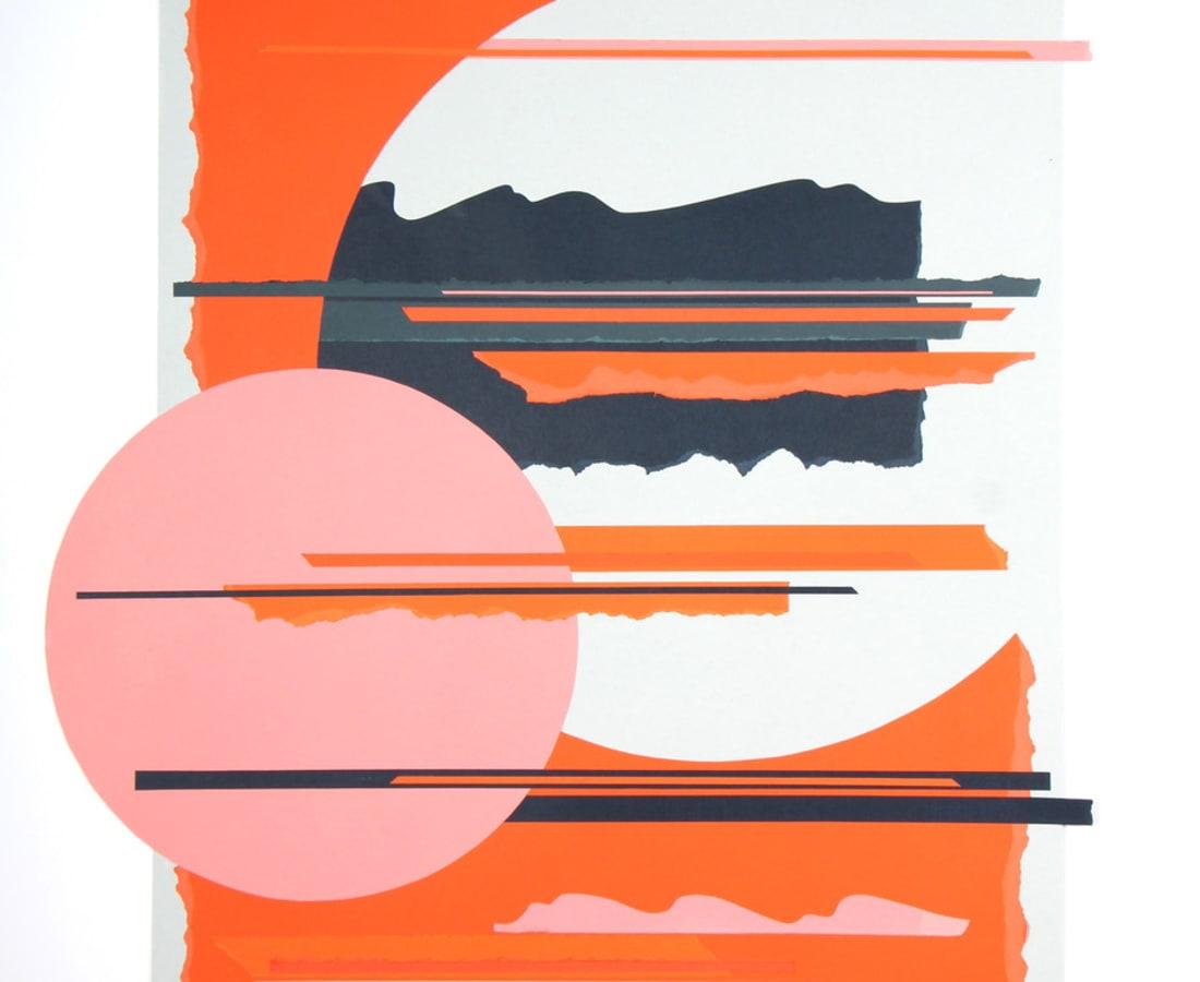Tangerine Sunset, 2019