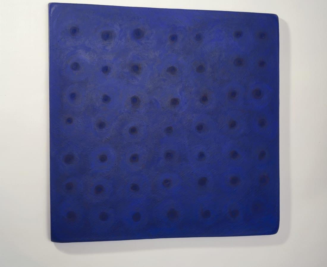 Blue canvas , 2001