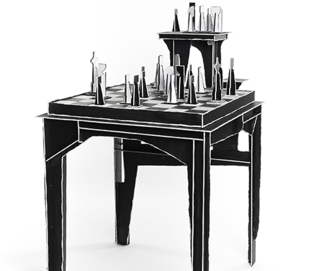 Kiki and Joost, Protopunk - Chessboard Table
