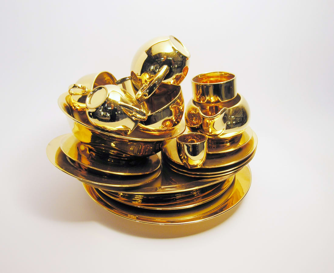 Ted Noten, Golden Piles - II