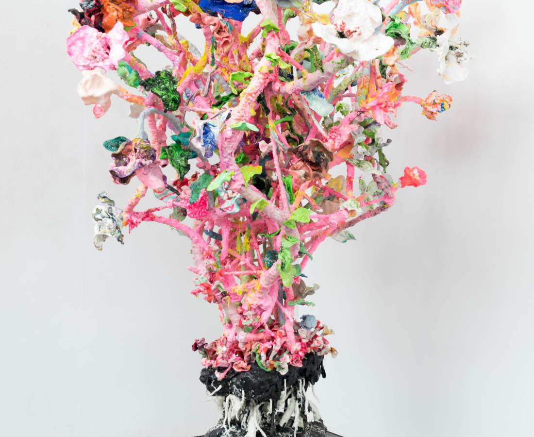 Stefan Gross, Stranger Flowers - Pink