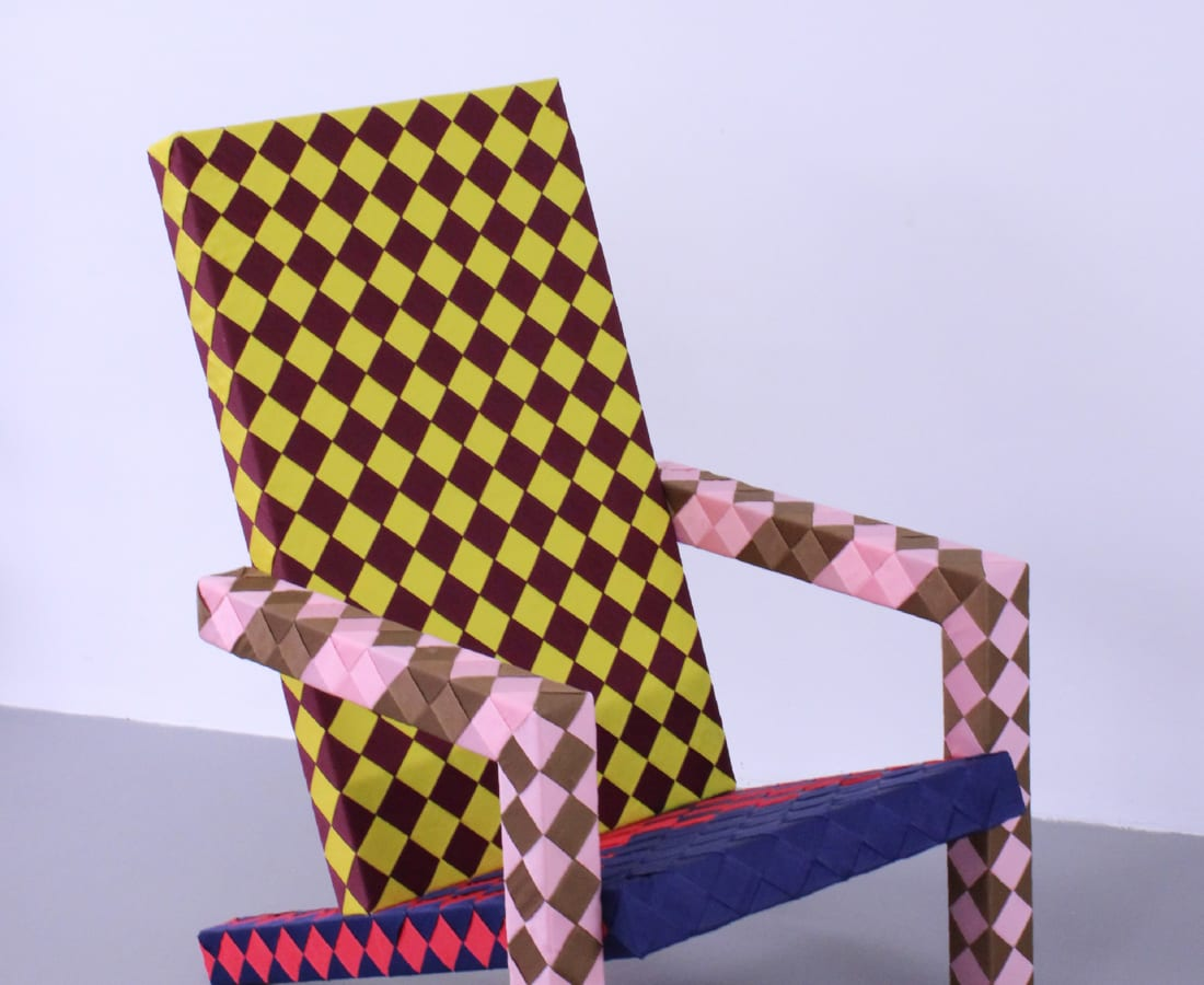 Lex Pott, Checkered woven deckchair
