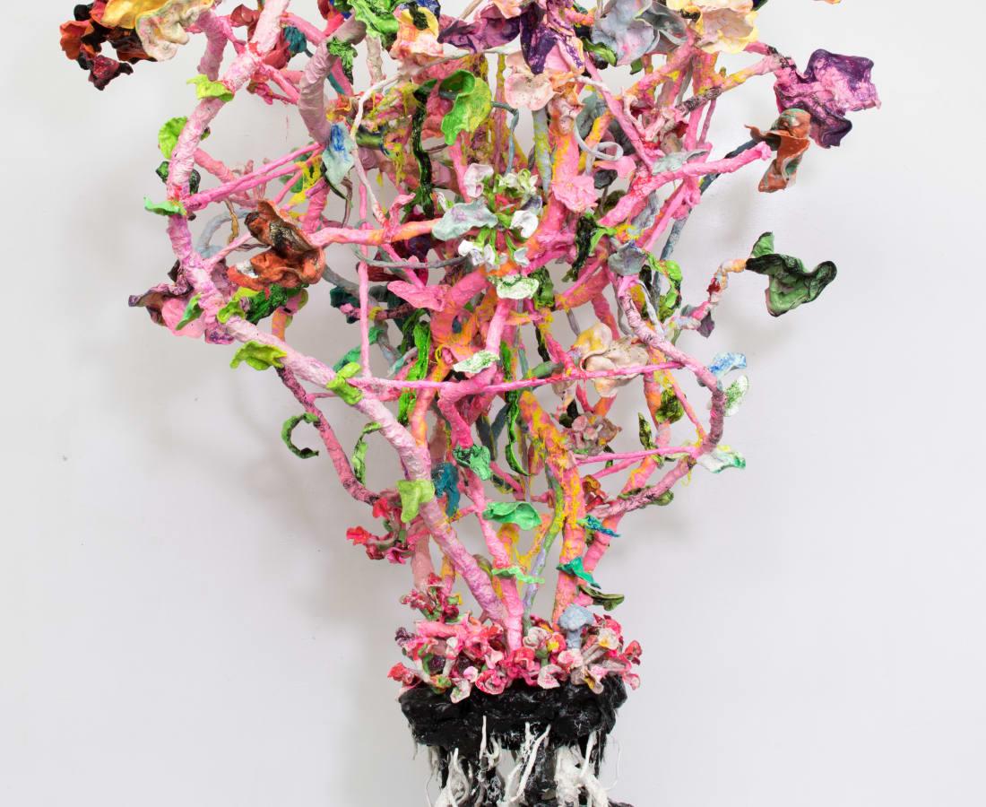 Stefan Gross, Stranger pink Flowers - VIII