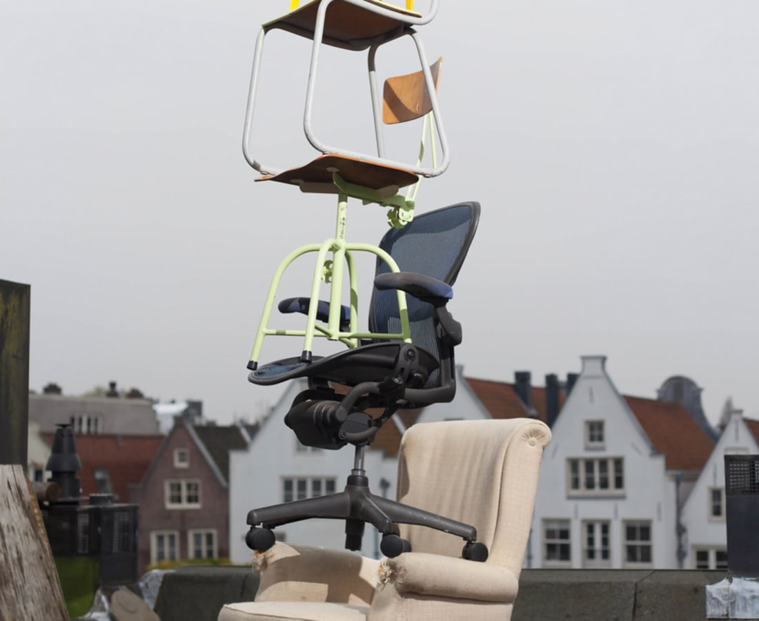 Bart Eysink Smeets, Five Chairs On The Roof