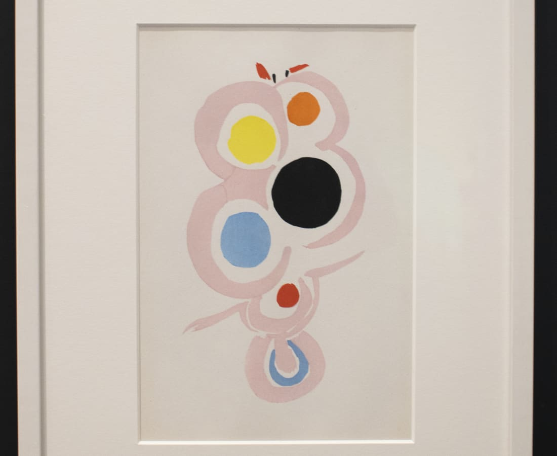 Sonia Delaunay, Untitled - 6, 1969