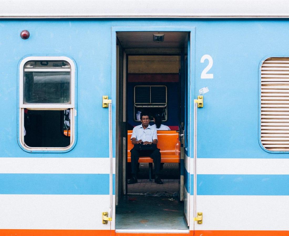 Abdul Halik Azeez, Seeing through the train, 2014