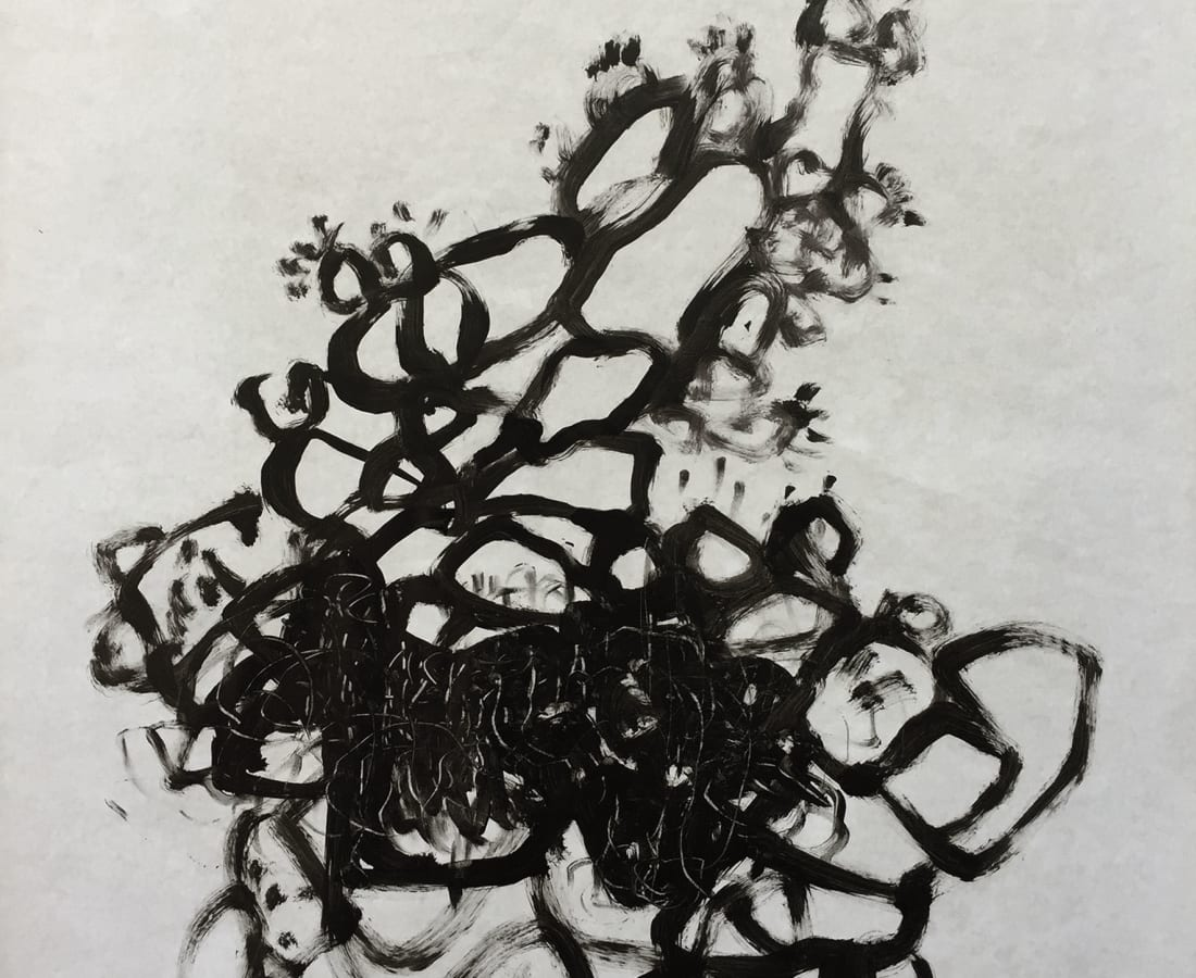 Hashan Cooray, Cactus tree II, 2020