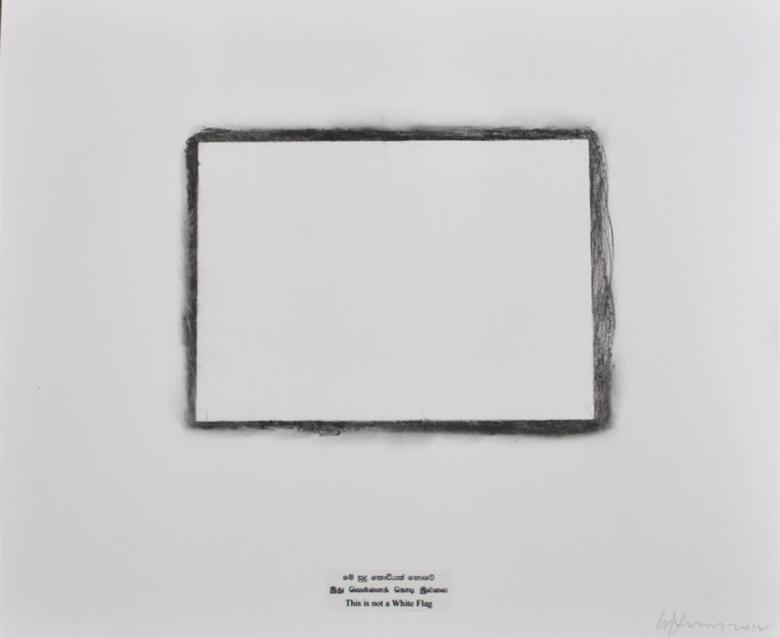 Chandraguptha Thenuwara, This is not a white flag VII, 2012