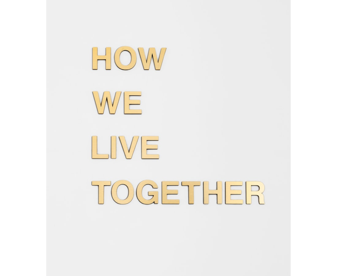 Anne Katrine Senstad, How We Live Together, 2018