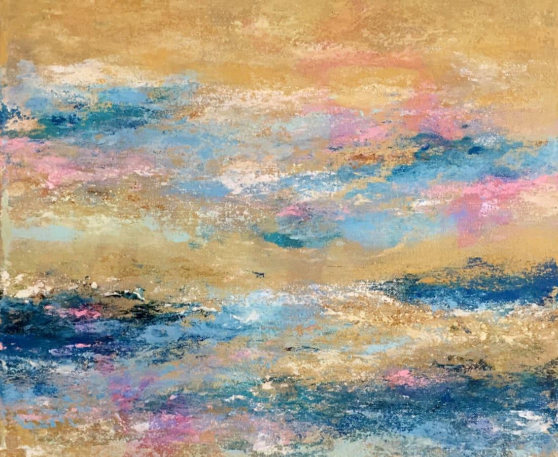 Victoria Borisova, Sound of the ocean I, 2017