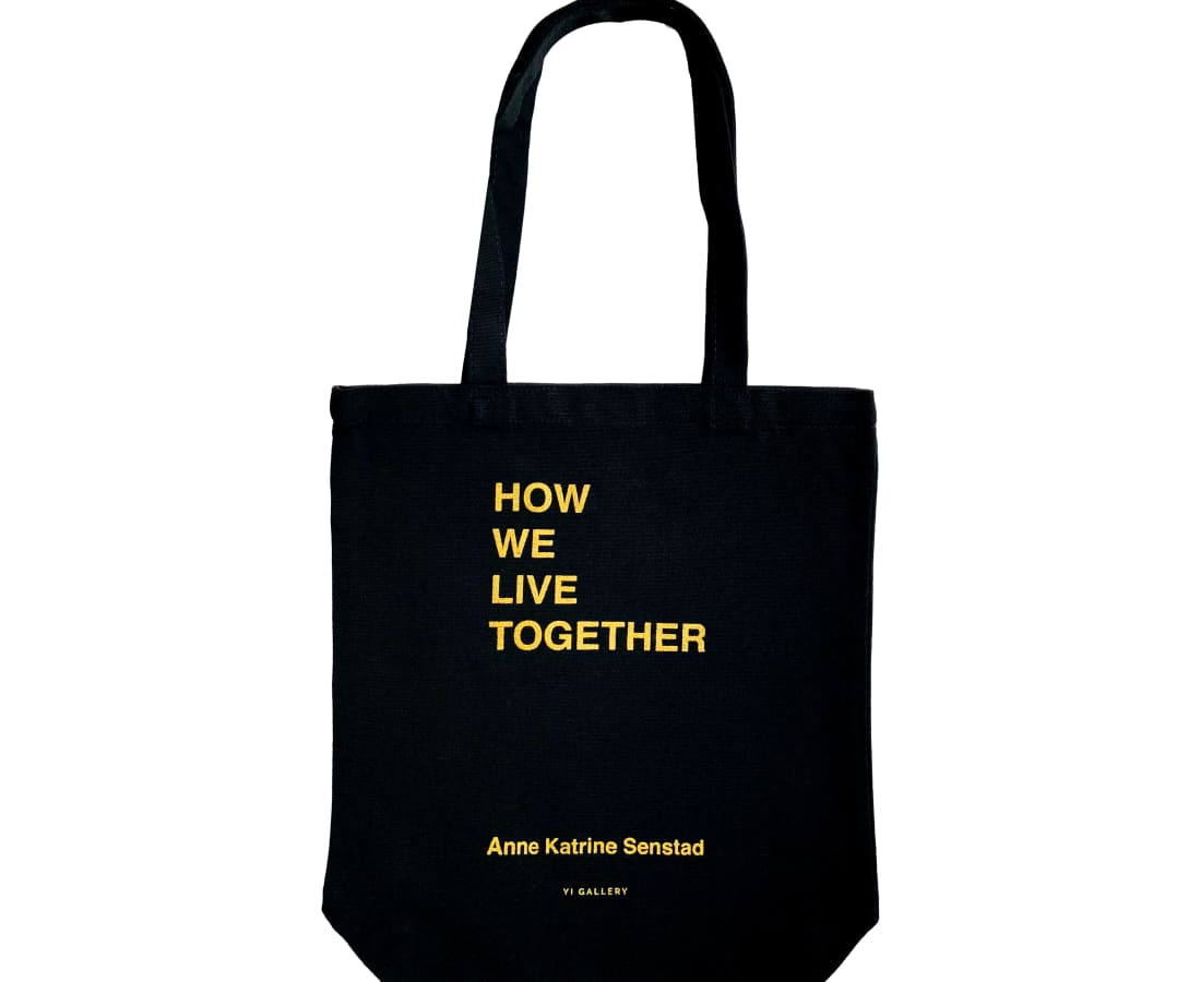 Anne Katrine Senstad, How We Live Together Tote Bag, 2020